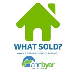 Owen J Roberts School District Sold Homes