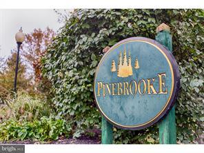 Pinebrook Village Sign